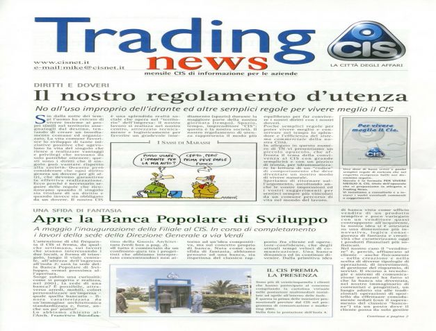 Trading NEWS 5_2001_0